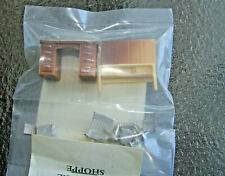 """NIP Dollhouse Miniature (1:48) Scale  Suzanne's """"OFFICE Desk, Cabinets & Chair +"""
