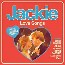 JACKIE - LOVE SONGS 2CDs (NEW) ABBA Barry White 10cc Donny Osmond Dr. Hook