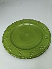 "Debby Segura Bella Green Salad Plate 8 1/4"" by Signature 2005"