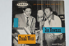"""JOE NEWMAN / FRANK WESS SEXTET - 7"""" EP 45 Coral Records (94 103)"""