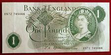 Excellent J S Fforde £ 1 Note-E57Z 745066