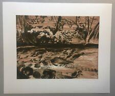 Yvette Kießling, rivière 5, Farblithographie, 2013, handsigniert und datiert