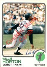 Custom made Topps  1973 Detroit Tigers Willie Horton  Baseball card