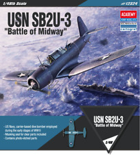 [Academy] 1/48 USN SB2U-3 Battle of Midway US Dive Bomber 12324