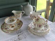 Vintage china mix and match tea set Choose Your Own Combination & Colour Scheme