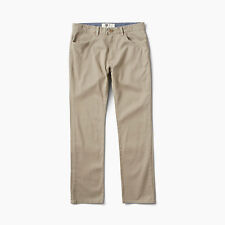 NWT MENS REEF SANDALS AUTO REDIAL PANTS 32 $65 Khaki slim straight fit