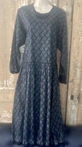 SONIA RYKIEL Dress Rose Print Black Gray