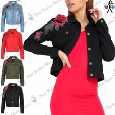 Abrigos y chaquetas de mujer de color principal rosa 100% algodón