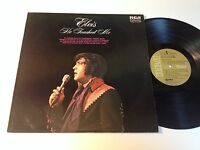 Elvis Presley: He Touched Me LP - Canada