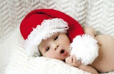 a8709158a51 Mud Pie Holiday My First Christmas Chunky Knit Santa Hat