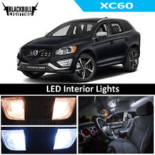 For 2010-2017 Volvo XC60 White LED Interior Lights Accessories Replacement Kit