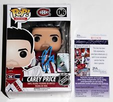 CAREY PRICE SIGNED MONTREAL CANADIENS FUNKO POP VINYL FIGURE 06 NHL +JSA COA