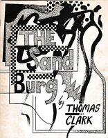 "THOMAS (TOM) CLARK  ""THE SAND BURG"" POEMS JOE BRAINARD 1966 POET'S FIRST BOOK"