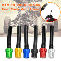 CNC ATV Pit Dirt Bike Gas Fuel Tank Cap Valve Vent Breather Hose with Black Tube