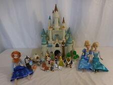 Disney Monorail Cinderella Castle Magic Kingdom Lights + Sounds + Princes Dolls