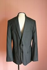 JCrew Ludlow Suit Jacket Center Vent in Italian Wool 44L Heather Charcoal 21351