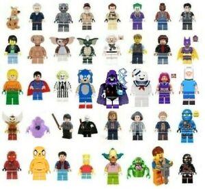 Lego Minifigure Dimensions U PICK Scooby-Doo Aquaman Shaggy Marty McFly Emmet