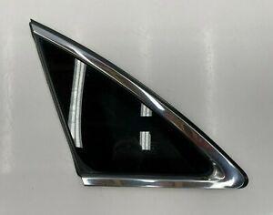 2009-2017 INFINITI FX35 FX37 FX50 QX70 - REAR LEFT DRIVER SIDE QUARTER GLASS OEM