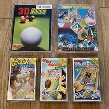 Pinball, máquina de frutas, cazadores de fantasmas 180, Zub + paquete de juegos más ZX Spectrum
