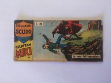 Striscia Capitan Miki Collana Scudo Casa Editrice Dardo N°12 Anno 1959 Originale