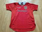 Umbro Manchester United Shirt football shirt 1999 Size 158cm 12/13 Years