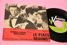 "7"" LE PIACE BRAHMS OST COLONNA SONORA ORIG ITALIAN 1961 EX !!!!!!!!!!!!!!!!!!"
