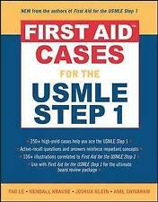 First Aid Cases for the USMLE Step 1 (First Aid)-ExLibrary
