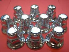 6 Packets Of 10 Chrome Wheel Nut Covers 32Mm To Suit Daf