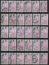 P12* Timbres France Oblitérés x30 (1974) (n°1810 ST-NICOLAS-DE-PORT)