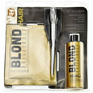 Blond Brilliance Hair Highlight NEW DIY Home Kit Easy Application Tools Included