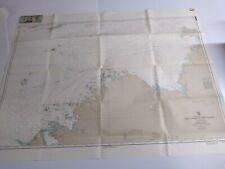 Antique Vintage  Navy Nautical Chart Aeronautical Map    Australia  Cape Leveque