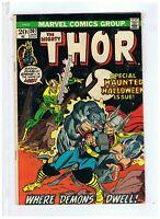 Marvel Comics The Mighty Thor #207 F/VF+ 1973