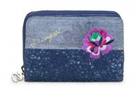 Desigual Purse Mone Magnetic Exotic Jeans Marino
