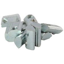 10x Nutenstein 5 St Nut 5 - Typ I - mit Steg, Federkugel, Stahl verzinkt