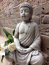 Gran Estatua De Budas divino para el hogar o jardín (14kg) desde el diseñador Sius