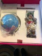 Marie Osmond Around the World Dolls by Ping Lau w/Globe Stand Complete Set.Nib