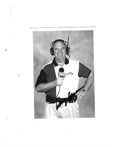 Benny Parsons Signed ESPN 5x7 Promo Photo