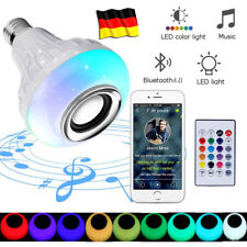 12W RGB LED Glühbirne Glühlampe LED Farbwechsel Birne mit E27 Fernbedienung DE