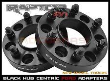 "2015-2017 Ford 6x135 1.25""  M14x1.5 Thread Pitch Black Hub Centric Wheel Spacers"