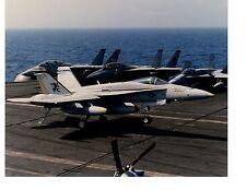 Boeing F18 Hornet VFA15 Navy Fighter Aircraft Photo 8x10 USS T. Roosevelt CVN71