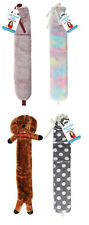 2L Extra Long Hot Water Bottle With Faux Fur Removable Cover Full Body Warmies