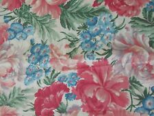 Fabric Floral Flower Garden Shabby Vintage Kesslers Concord 994 Quilting