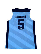 """Kevin Durant Signed United States USA """" 2012 Olympics """" White Jersey JSA"""