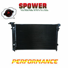 Black Aluminum Radiator For Holden Commodore VY 3.8L 6Cyl V6 AT MT 2002-2004 03