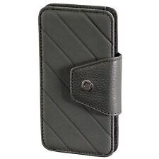 Authentique CERRUTI 1881 cuir housse de téléphone portable en Gris se adapte iPhone 4, iPhone 4 s