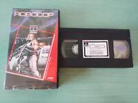 Robocop Paul Verhoeven Peter Weller Nancy Allen VHS Kassette Tape Spanisch