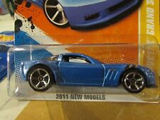 Hot Wheels '11 Corvette Grand Sport 2011 New Models Blue