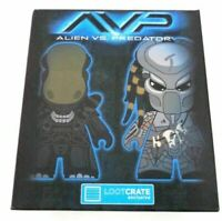 Alien VS Predator AVP Titans Vinyl Figure Versus Loot Crate Sealed exclusive NEW