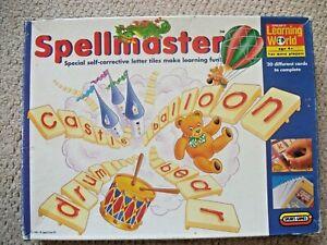 Vintage Spears Learning World Spellmaster Educational Game