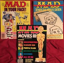 MAD Magazine 1990 1991 Super Special Lot (3) Summer Winter Movies Door Signs PC